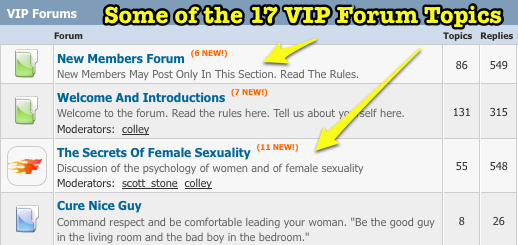 VIP Forums